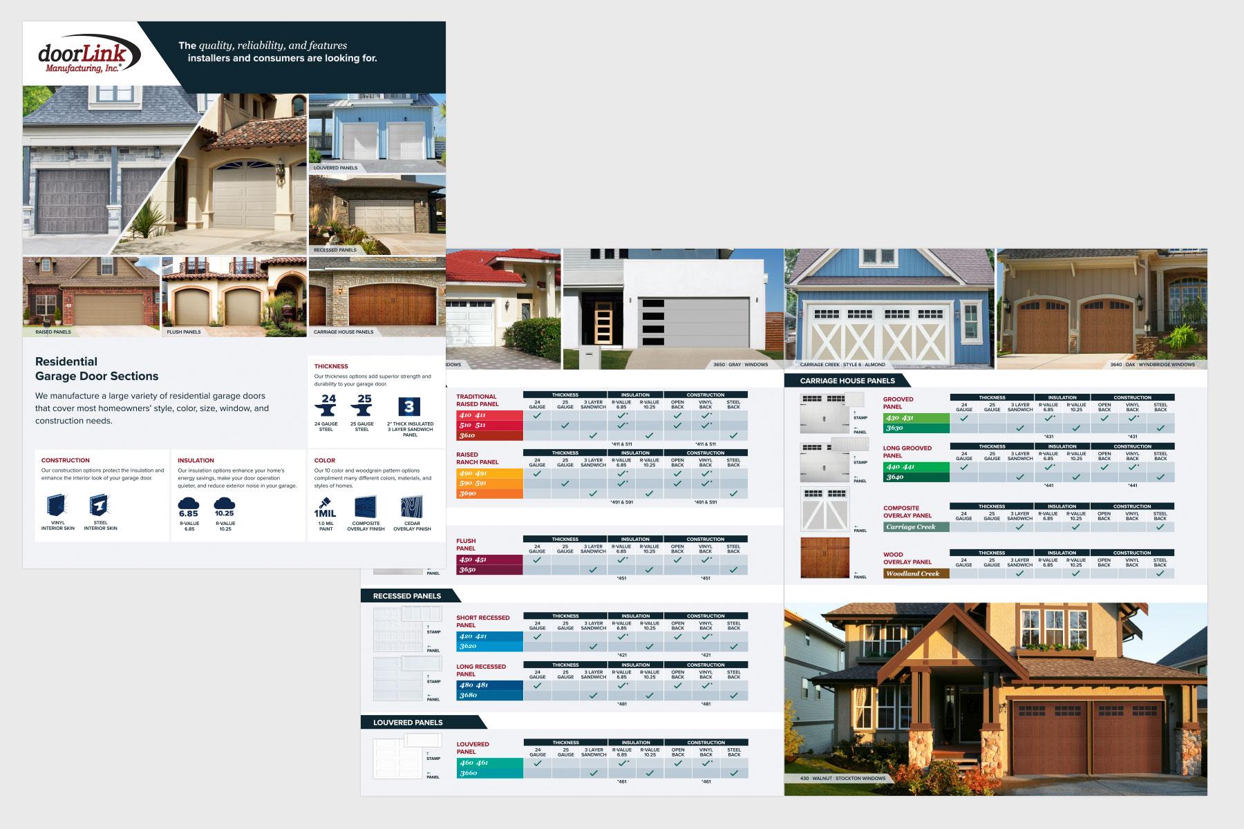 Graphic Design - Flyer Design - doorLink Manufacturing, Inc. #1